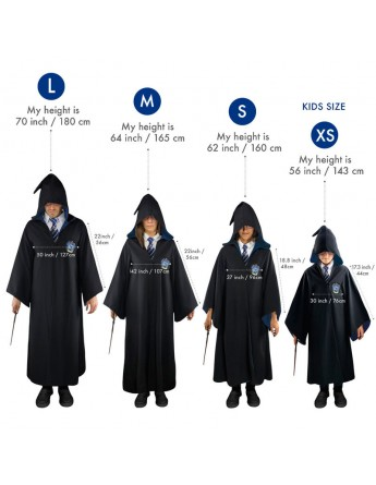 Tunica Ravenclaw Harry Potter