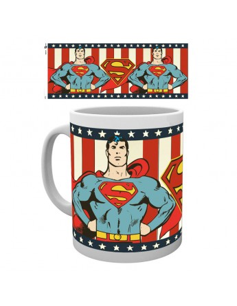 Taza Superman vintage DC