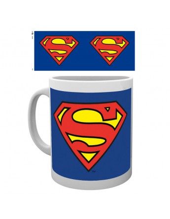 Taza logo Superman DC