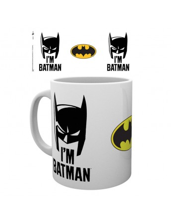 Taza Batman I39m Batman Cowl DC