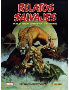 BIBLIOTECA RELATOS SALVAJES...