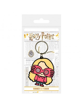 Llavero rubber Luna Lovegood Harry Potter