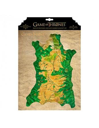 Mapa magnetico Westeros Juego de Tronos