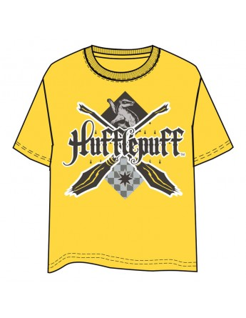 Camiseta Hufflepuff Harry Potter adulto