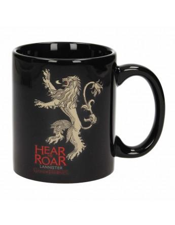 Taza Hear Me Roar Lannister Juego de Tronos