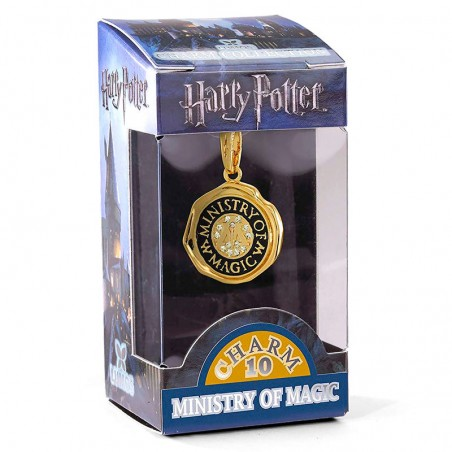 Colgante charm Ministerio de Magia Harry Potter