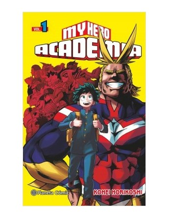 MY HERO ACADEMIA Nº 01