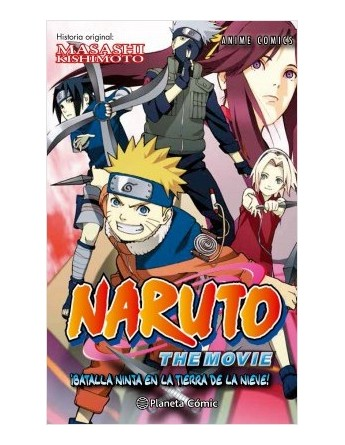 NARUTO ANIME COMIC Nº02