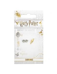 Pendientes Lightening Bolt and Glasses Harry Potter
