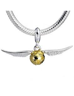 Colgante charm plata Golden Snitch Harry Potter