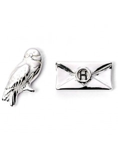 Pendientes Hedwig and Letter Harry Potter