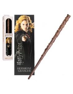 Varita Hermione Granger con marca paginas Harry Potter
