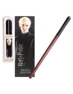 Varita Draco Malfoy con marca paginas Harry Potter