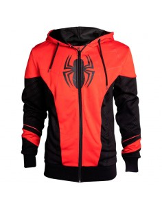 Sudadera capucha Spiderman Marvel