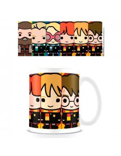 Taza Kawaii Brujas y Wizards Harry Potter