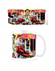 Taza Rayo Shazam DC Comics
