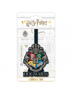 Etiqueta equipaje Hogwarts Harry Potter