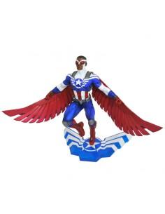 Estatua diorama Captain America Sam Wilson 25cm