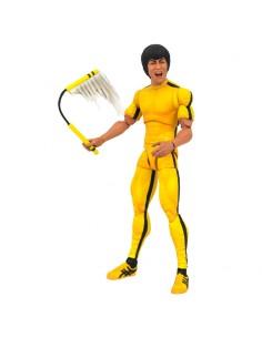 Figura articulada Yellow Jumpsuit Bruce Lee Select 18cm