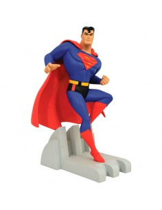 Estatua Superman Justice League Animated DC Comics 30cm