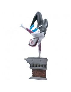 Estatua diorama Spider Gwen Marvel 28cm
