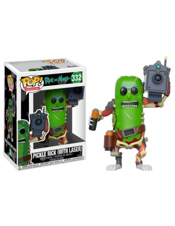 Figura POP Rick and Morty Pickle Rick with Laser