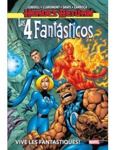 LOS 4 FANTASTICOS 01: VIVE...