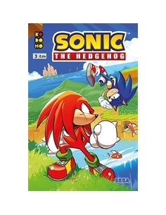 SONIC THE HEDGEHOG Nº 03