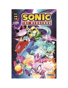 SONIC THE HEDGEHOG Nº 10