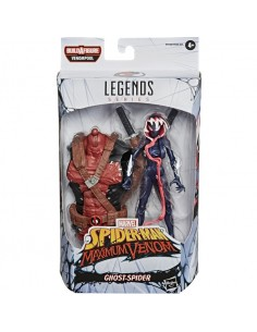 FIGURA GHOST SPIDER MARVEL...