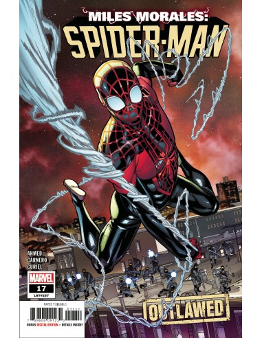 MILES MORALES SPIDER-MAN 17 OUT
