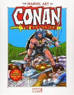 MARVEL ART OF CONAN THE...
