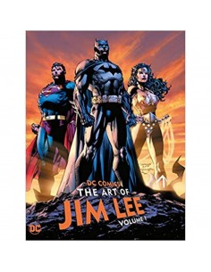 DC COMICS THE ART OF JIM...