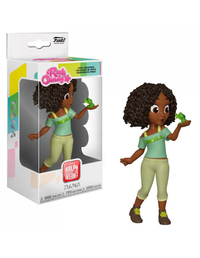Figura Rock Candy Disney Comfy Princesses Tiana