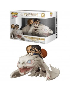 Figura POP Gringotts Dragon con Harry Ron y Hermione Harry Potter