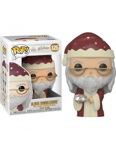 Figura POP Harry Potter Holiday Dumbledore