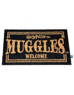 Felpudo Muggles Welcome Harry Potter