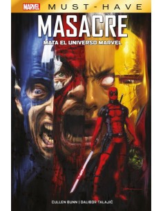 MARVEL MUST-HAVE. MASACRE...