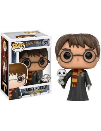 Figura POP Harry Potter Harry with Hedwig Exclusive