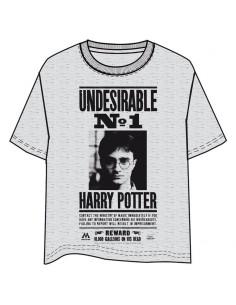Camiseta Undeseable Harry Potter adulto