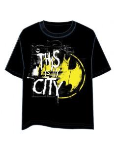 Camiseta City Batman DC Comics adulto