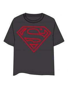 Camiseta Superman DC Comics gris adulto