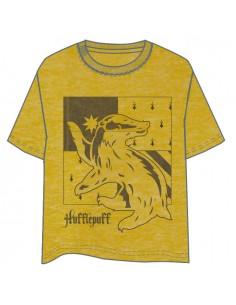 Camiseta Hufflepuff Harry Potter adulto