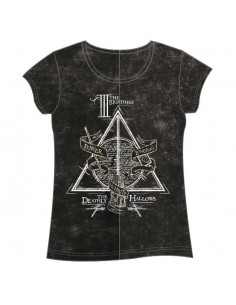 Camiseta Deathly Hallows Harry Potter adulto mujer