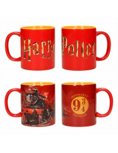 Set tazas logo Hogwarts Harry Potter