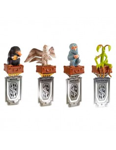 Set 4 marcapaginas Animales Fantasticos