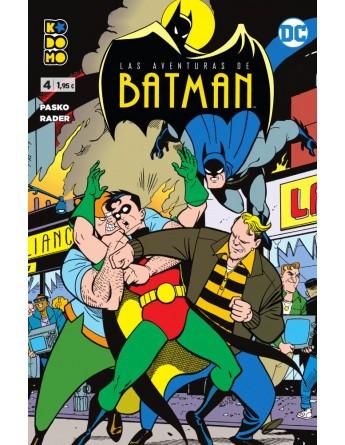 LAS AVENTURAS DE BATMAN Nº 04