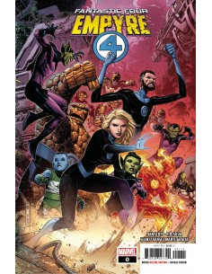 MARVEL EMPYRE FANTASTIC FOUR 0