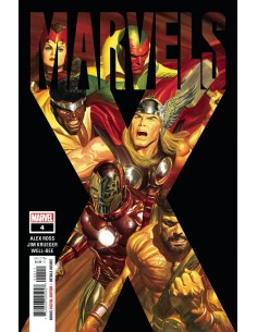 MARVEL MARVELS X 4 (OF 6)