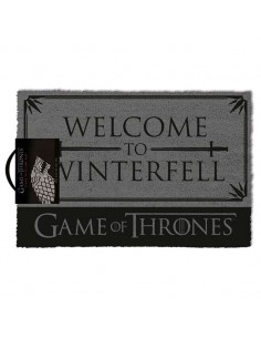 Felpudo Welcome to Winterfell Stark Juego de Tronos